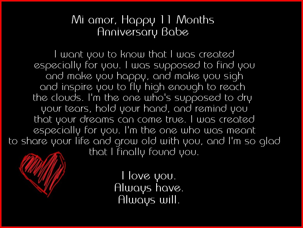 Happy anniversary wife 3 months pregnant