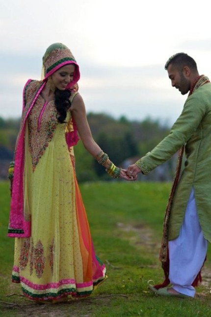 indian couple | Camila and Anas Ahmed